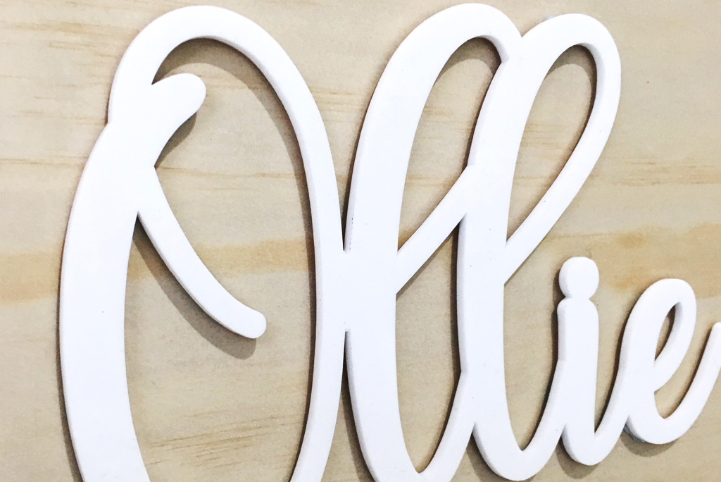 Acrylic Brass SS Letter - Prismhue