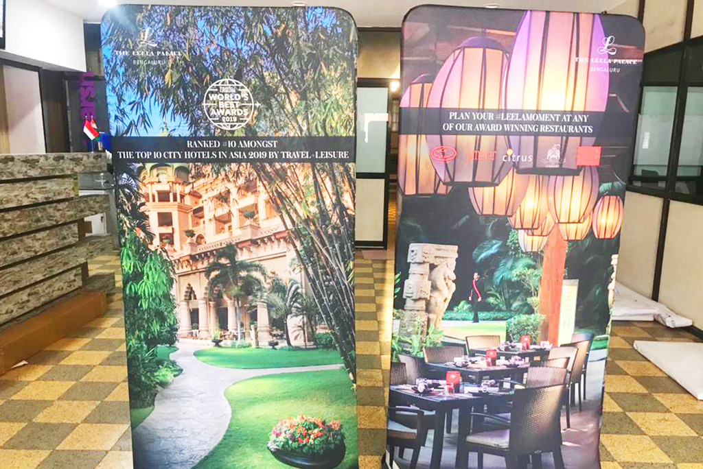 Double Side Fabric Standee