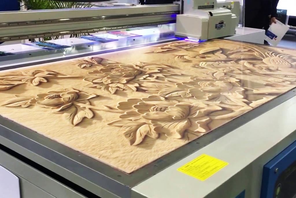 Wood UVFlat Bed Printing