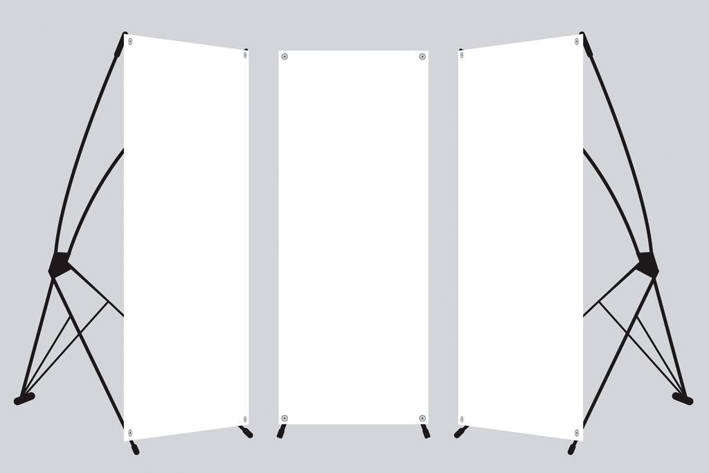 X Banner / L stand